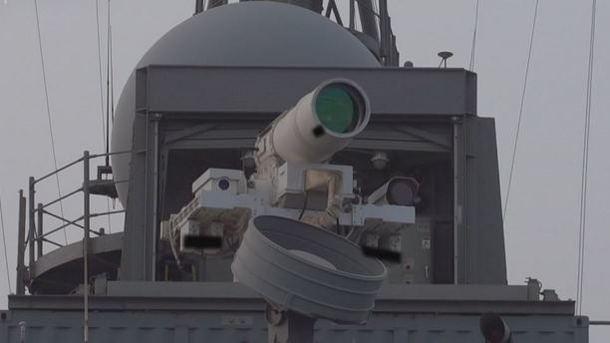В США испытали уникальное лазерное оружие