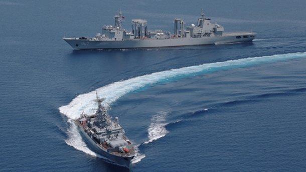Россия и Китай собираются перебросить корабли в Балтийское море