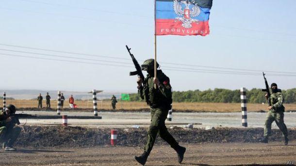 На Донбассе произошло массовое бегство боевиков