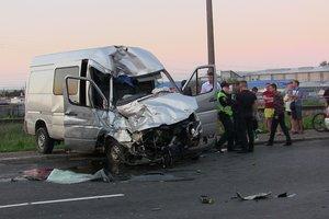 В Черновцах разбился автобус с десятками иностранцев