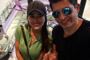 Андрей Джеджула в день рождения своей девушки сделал ей предложение