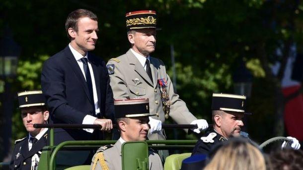 Руководитель французского генштаба ушел вотставку нафоне конфликта сМакроном