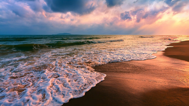 Море женщины фото