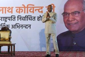 Президентом Индии стал человек из касты неприкасаемых