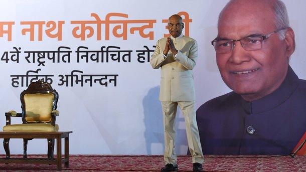Президентом Индии избран националист изкасты неприкасаемых