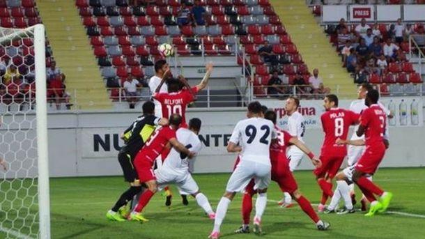 Состоялся ответный матчФК «Зиря» врамкахII квалификационного раунда Лиги Европы