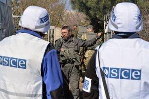 Боевики не пускают миссию ОБСЕ в Новоазовск