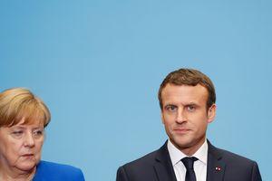 """Меркель и Макрон подвели итоги беседы """"нормандской четверки"""""""