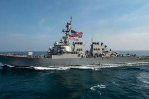 Корабль США открыл предупредительный огонь по иранскому судну