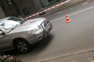 В центре Киева пьяный водитель сбил двоих пешеходов