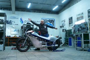 Украинский суперскоростной мотоцикл Inspirium отправится покорять США