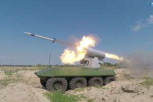 Укроборонпром показал испытания новейших ракет