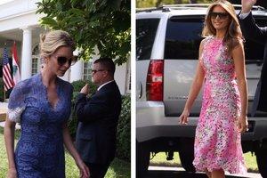 Иванка и Меланья Трамп попали в список самых красивых политиков Вашингтона