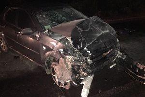 Возле Ровно столкнулись три авто: пострадавший младенец потерял мать