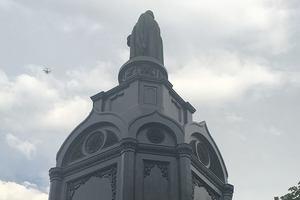 В Киеве привели в порядок памятник Владимиру