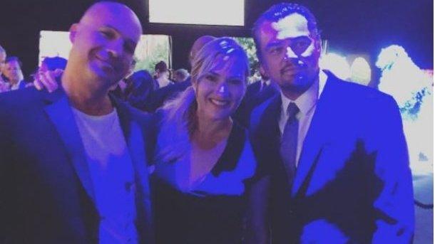Билли Зейн, Кейт Уинслет и Леонардо ДиКаприо. Фото: instagram.com/billyzane