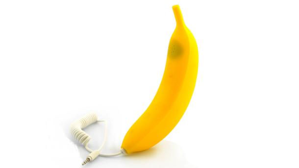 Самсунг проинформировал осоздании банана-телефона, который можно съесть