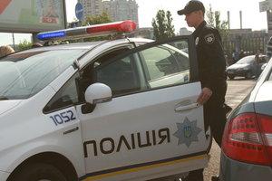 Под Киевом полиция остановила похищенное авто с пьяным водителем