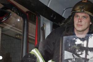 В Киеве дотла сгорел заброшенный дом