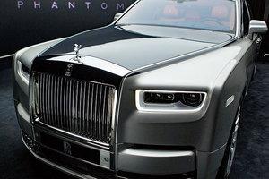 Опубликованы первые фотографии нового Rolls-Royce Phantom
