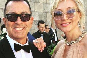 Кристина Орбакайте пришла на свадьбу сына в платье за 120 тысяч гривен