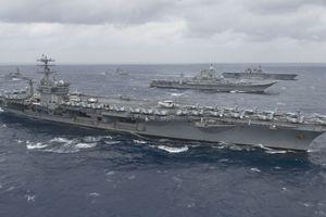 Американский авианосец Nimitz совершил предупредительный выстрел по кораблю Ирана - СМИ