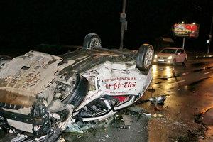 В Киеве произошло смертельное ДТП: погиб водитель, среди пострадавших – младенец