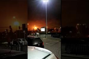 На крупнейшем НПЗ Европы вспыхнул пожар