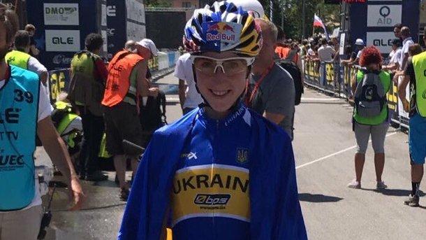 Украинка Беломоина стала чемпионкой Европы помаунтинбайку