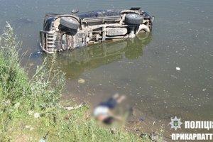 Смертельное ДТП на Прикарпатье: внедорожник  слетел в реку