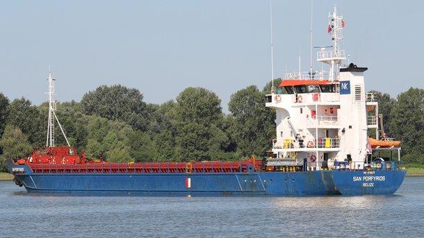 Пограничники задержали иностранное судно, которое заходило впорты оккупированного Крыма