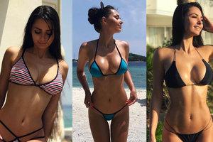 """Знойная фитнес-модель из России, из-за который звезда """"Баварии"""" бросил свою жену"""