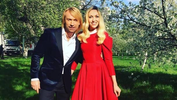 Оля Полякова и Олег Винник. Фото: Facebook