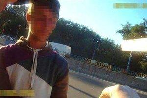 В Киеве грабитель напал на женщину с младенцем