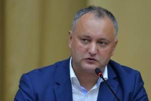 Додона возмутило решение правительства Молдовы по Рогозину