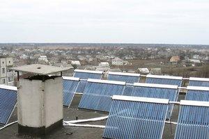 Украинцы ставят солнечные панели в частных домах и многоэтажках
