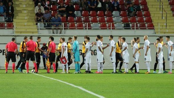 «Александрия» тренера Шарана героически выигрывает вЛиге Европы