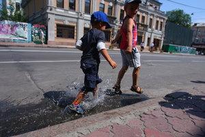 Жара в Киеве бьет столетние температурные рекорды