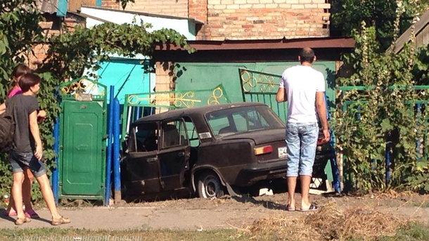 ДТП вЗапорожье: столкнулись три автомобиля