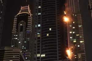 Как Дубае горел один из высочайших небоскребов мира: появились фото