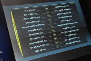 Результаты жеребьевки раунда плей-офф Лиги Европы