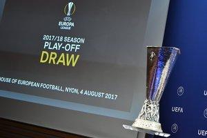 Онлайн: жеребьевка плей-офф Лиги Европы
