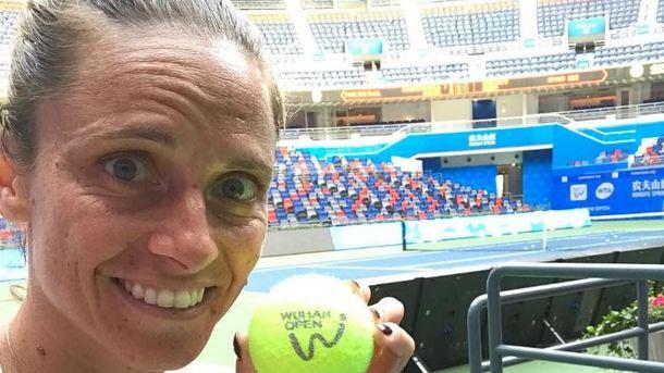 Уитальянской теннисистки Винчи украли трофеи