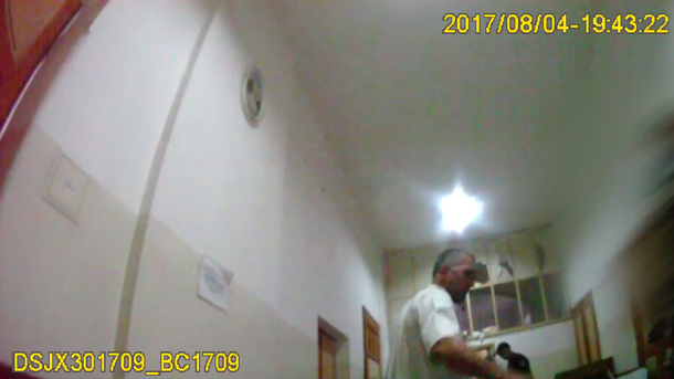Кадр из оперативного видео