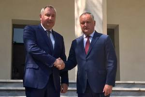 Додон призвал РФ не вводить санкции против Молдовы из-за Рогозина