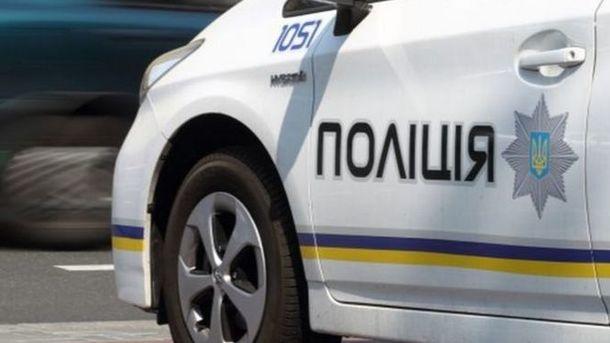 ВОдесской области взорвалось авто полицейского