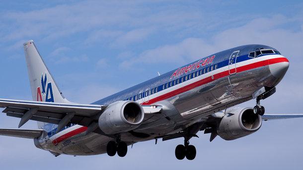 Над Атлантикой самолет попал в зону турбулентности