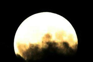 Жители Земли наблюдали за лунным затмением