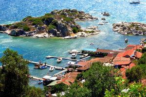 В популярном курортном районе Турции произошло сильное землетрясение