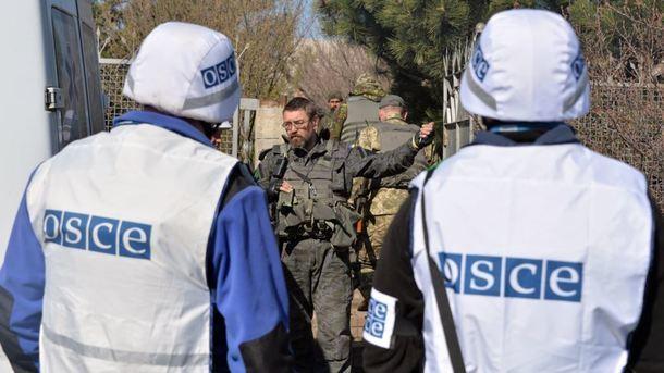 ОБСЕ: замесяц наЛуганщине погибли либо ранены 7 человек